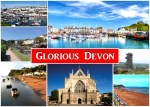 Glorious Devon Postcard