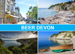 Beer Postcard Devon