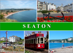 Seaton Devon Postcard